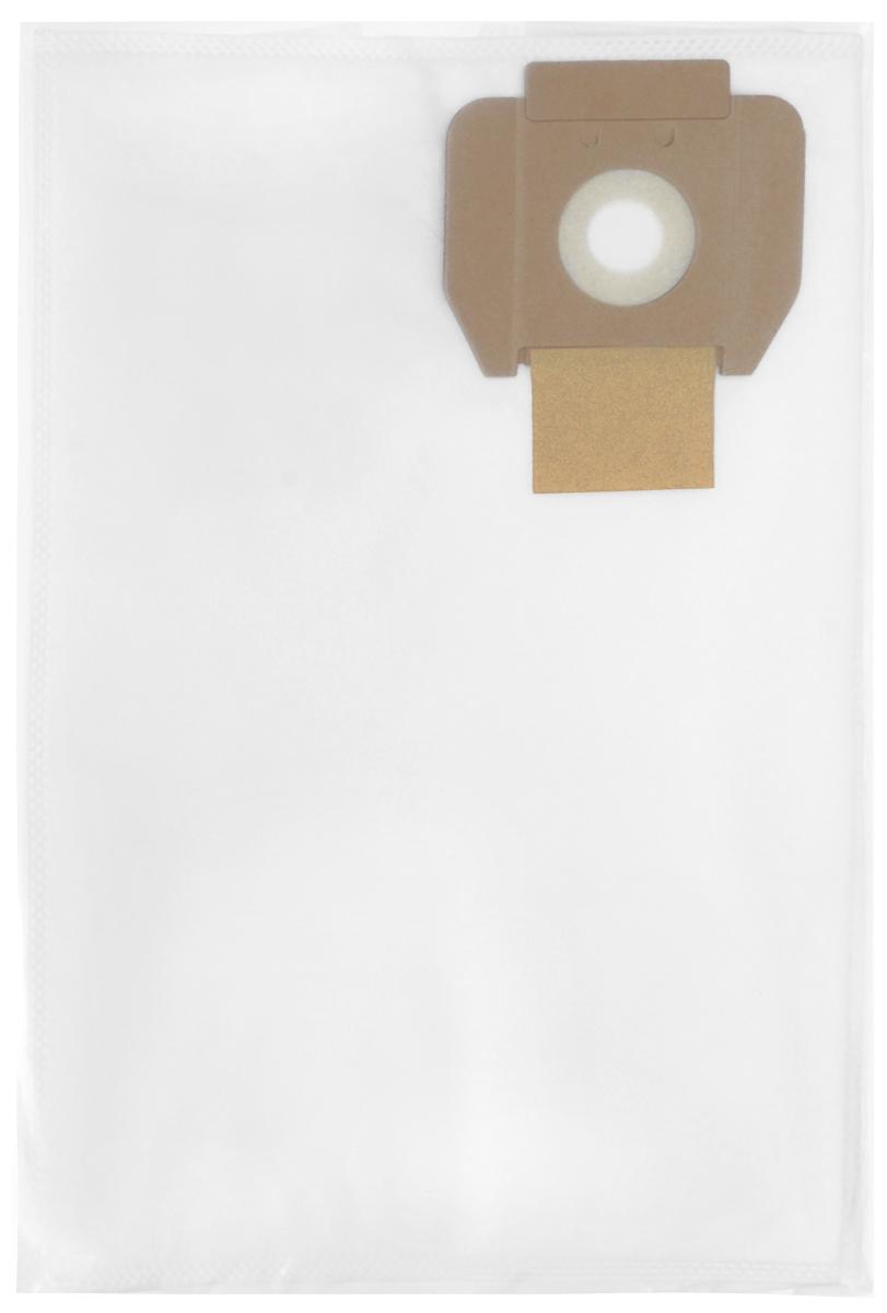 Filtero CLN 10 Pro комплект пылесборников для промышленных пылесосов, 5 штCLN 10 (5) ProМешки для промышленных пылесосов Filtero CLN 10 Pro, трехслойные, произведены из синтетического микроволокна MicroFib. Прочность синтетических мешков Filtero CLN 10 Pro превосходит любые бумажные мешки- аналоги, даже если это оригинальные бумажные мешки всемирно известных марок. Вы можете быть уверены: заклепки, гвозди, шурупы, битое стекло, острые камни и прочее не смогут прорвать мешки Filtero Pro. Мешки Filtero Pro не боятся влаги, и даже вода, попавшая в мешок, не помешает вам произвести качественную уборку! Мешки Filtero Pro предназначены для уборки пыли классов М. Подходят для следующих моделей пылесосов: CLEANFIX: S 10 S 12 COLUMBUS: ST 11 ST 22 DELVIR: STILL HAKO: D 5 SUPERVAC 100 SOTECO: LEO TASKI: Vento 8 TENNANT: V 5