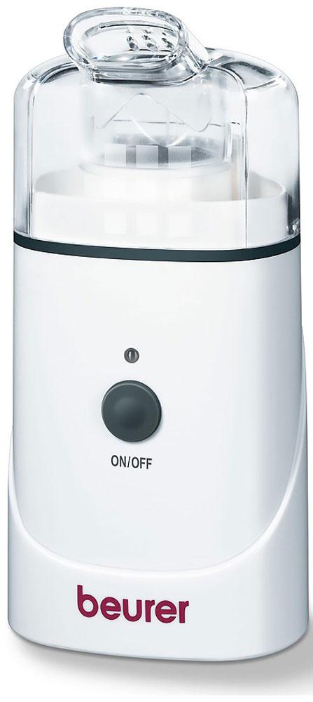 Beurer IH30 ультразвуковой ингалятор0003889Beurer IH30 - ультразвуковой ингалятор для верхних и нижних дыхательных путей. Небулайзер использует ультразвуковую технологию, которая превращает жидкость в мелкодисперсный туман, который вы можете очень легко вдыхать.Используемая новейшая ультразвуковая технология обеспечивает эффективную ингаляцию верхних и нижних дыхательных путей с применением аэрозольных лечебных препаратов. Такая ингаляция позволяет предотвратить заболевания респираторного тракта, подавляет сопровождающие эти заболевания симптомы и ускоряет выздоровление.Активное вещество поступает непосредственно туда, куда нужно, в то время как таблетки или сиропы попадают сначала в желудочно-кишечный тракт и только после этого попадают через кровоток к нужному месту. Вдыхание это более приятный и более эффективный метод доставки лекарств, чем инъекции. При ингаляции небулайзером организм меньше подвержен нагрузке, поскольку при вдыхании требуется существенно меньшая доза лекарств - например, по сравнению с эквивалентом, в таблетках. К тому же уменьшается и количество побочных эффектов, так как активное вещество меньше присутствует в кровотоке и в органах куда оно случайно попадает.Небулайзер работает тихо , поэтому может быть использован в любое время, например пока ваш ребенок спит. Возможность работы от аккумулятора, позволяет проводить ингаляции в любом месте. Вы можете взять прибор в дорогу или путешествие или же просто переместится в кровать не думая о проводах.Ультразвуковая частота: 2.5 MГцСтепень распыления: 0.2 - 0.7 мл/минРазмер частиц: 5 мкмЕмкость чашки: 5 млАвтоматическое отключение: спустя 10 минут