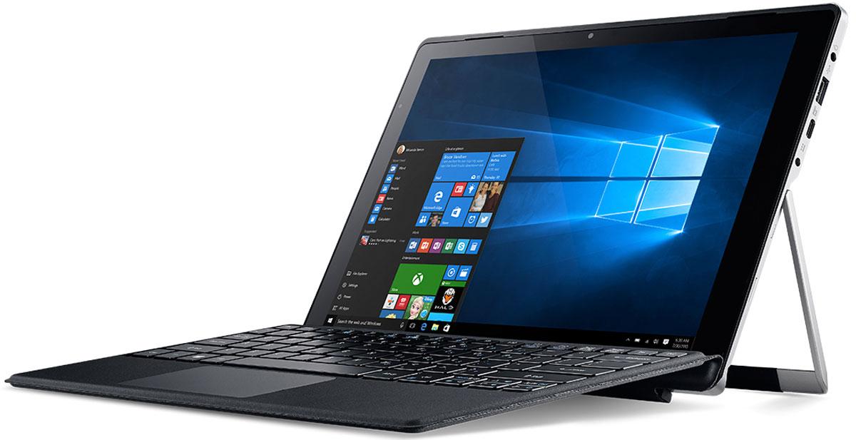 Acer Aspire Switch Alpha 12 (SA5-271-725P)NT.LCDER.008Acer Aspire Switch Alpha 12 - превосходная производительность без лишнего шума. Портативный корпус с регулируемым экраном и полноразмерной клавиатурой позволяет эффективно работать в любом месте. Подставку можно откидывать на 165° для максимального удобства просмотра. Благодаря резиновой противоскользящей полосе экран остается в нужном положении. Полноразмерная клавиатура с механизмом крепления на магнитных соединителях обеспечивает удобство набора текста и выполняет функцию защиты экрана. Switch Alpha 12 не занимает много места в сумке, поэтому его можно брать с собой куда угодно. Центральный процессор с системой жидкостного охлаждения и превосходные базовые функции обеспечивают отличную производительность. Безвентиляторная система охлаждения Acer LiquidLoop повышает производительность центрального процессора без шума. Порт USB 3.1 Type-C позволяет максимально передавать данные и осуществлять потоковую передачу видео с ...