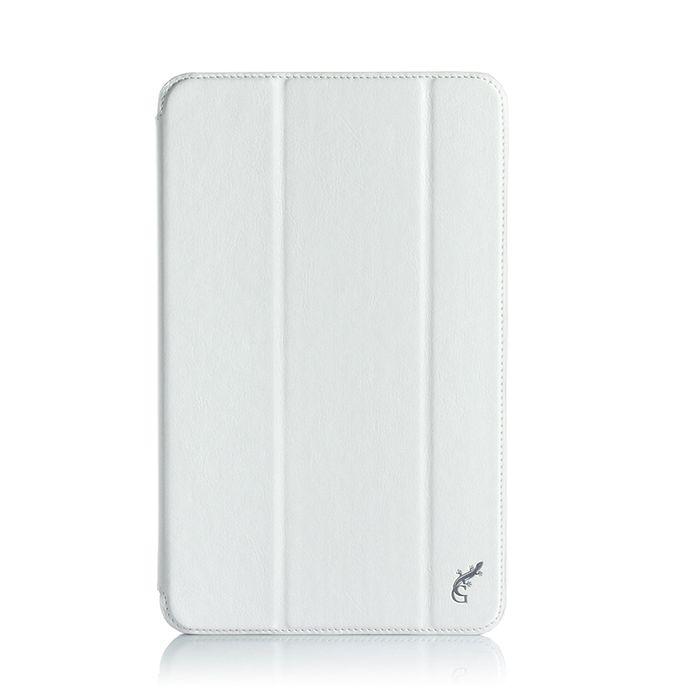 G-case Slim Premium чехол для Samsung Galaxy Tab A 10.1, WhiteGG-728Чехол G-case Slim Premium для планшета Samsung Galaxy Tab A 10.1 надежно защищает ваше устройство от случайных ударов и царапин, а так же от внешних воздействий, грязи, пыли и брызг. Крышку можно использовать в качестве настольной подставки для вашего устройства. Чехол приятен на ощупь и имеет стильный внешний вид. Он также обеспечивает свободный доступ ко всем функциональным кнопкам планшета и камере.