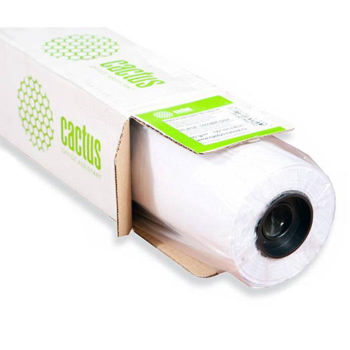 Cactus CS-PM140-106730 1067мм/140г/м2 матовая фотобумага для струйной печати (30 м)CS-PM140-106730Бумага является одним из важнейших расходных материалов при печати, а от ее качества зависит конечный отпечаток. Фотобумага Cactus CS-PM140-106730 шириной 1067 мм в рулоне 30 м и втулкой 50,8 мм обладает плотностью 140 г/м2, матовым покрытием и гарантирует отличный результат. Подходит для использования в плоттерах и подобных им устройствах.