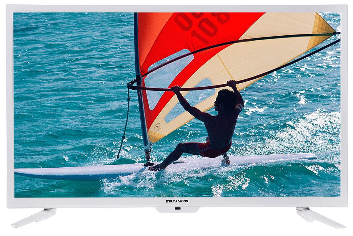 Erisson 32 LES 78 T2 W телевизор32LES78T2 WТелевизор Erisson 32LES78T2W с насыщенной цветопередачей изображения, разрешением HD и широкими углами обзора. Источником сигнала для качественной реалистичной картинки могут служить не только цифровые эфирные и кабельные каналы, но и любые записи с внешних носителей, благодаря универсальному встроенному USB-медиаплееру.Формат экрана: 16:9Яркость: 180 кд/м2Угол обзора: 178°/178°
