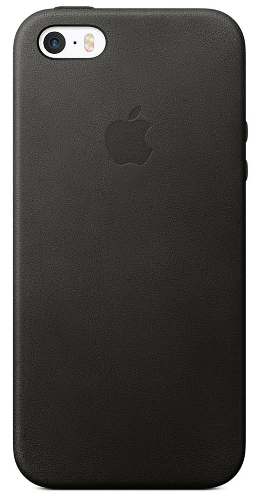 Apple Leather Case чехол для iPhone 5/5s/SE, BlackMMHH2ZM/AЧехол Leather Case от Apple изготовлены из специально обработанной и выделанной кожи европейского производства. Поскольку он создан специально для iPhone 5/5s/SE, он плотно прилегают к корпусу, так что ваш телефон всё равно будет выглядеть невероятно тонким. Мягкая внутренняя поверхность чехла, выполненная из микроволокна, защитит корпус вашего iPhone. А внешняя сторона порадует вас насыщенным оттенком: благодаря специальной технологии краситель проникает глубоко в структуру кожи.