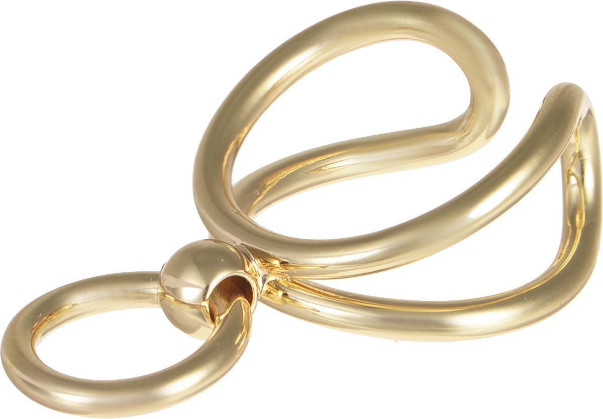 Кольцо Selena Street Fashion, цвет: золотистый. 60025180. Размер 16,560025180Оригинальное кольцо Selena выполнено из металла с гальваническим покрытием золотом. Элегантное кольцо Selena превосходно дополнит ваш образ и подчеркнет отменное чувство стиля своей обладательницы.