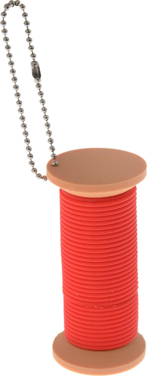 Hemline Катушка 2Gb, Red флеш-накопительE102.04Компактный флеш-накопитель Hemline в форме катушки отлично подойдет в качестве подарка или сувенира друзьям или коллегам. Материал внешней части защищает устройство от попадания влаги и пыли, а также от повреждений при неосторожном обращении. Благодаря высокопрочной конструкции накопитель будет защищен даже от случайных ударов или падений. Изделие снабжено металлической цепочкой, благодаря которой его можно прикрепить к ключам или сумке.