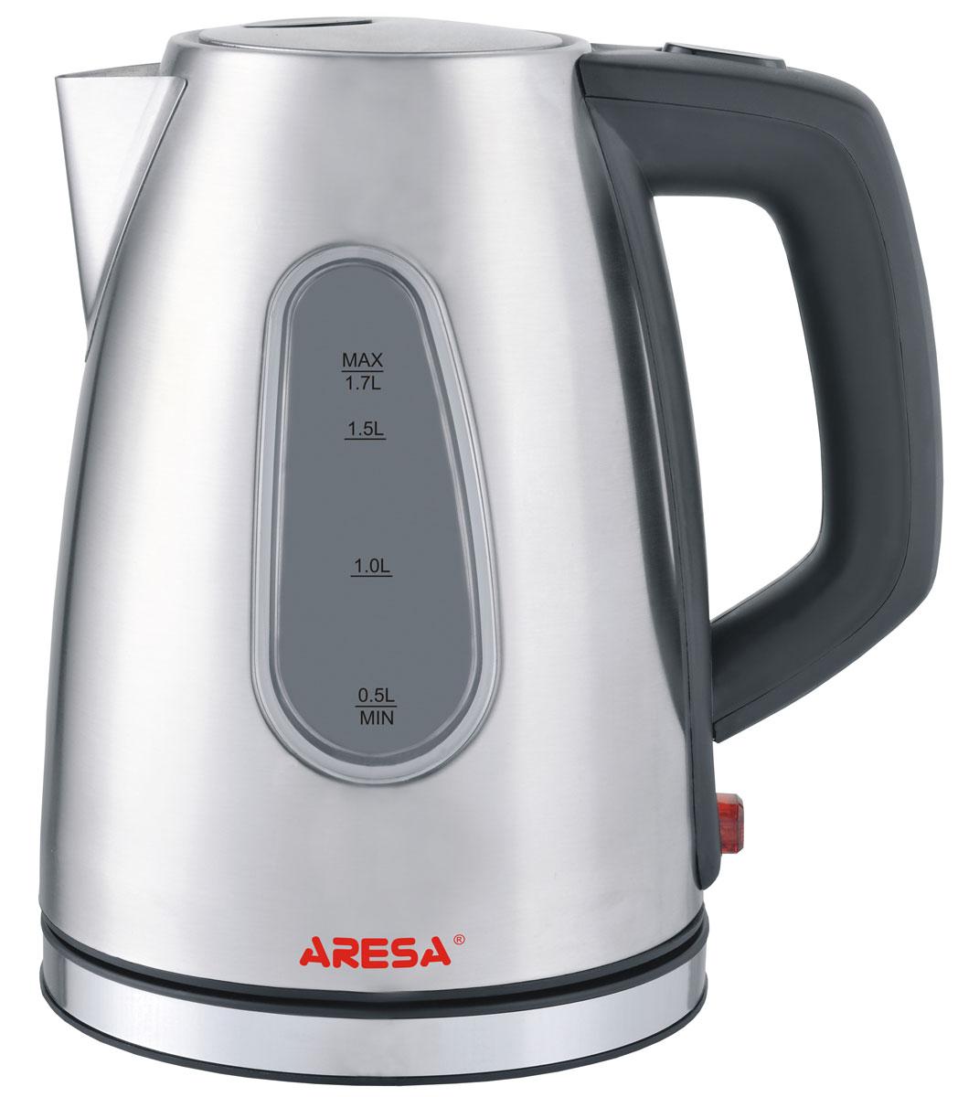 Aresa AR-3406 чайник электрическийAR-3406Электрический чайник Aresa AR-3406 в стильном металлическом корпусе мощностью 2000 Вт и объемом 1,7 литра отвечает всем современным требованиям надежности и безопасности. При его производстве используются только высококачественные и экологически безопасные материалы, а также нагревательный элемент и контроллеры высокого класса надежности. Устройство будет служить вам долгие годы, наполняя ваш быт комфортом!
