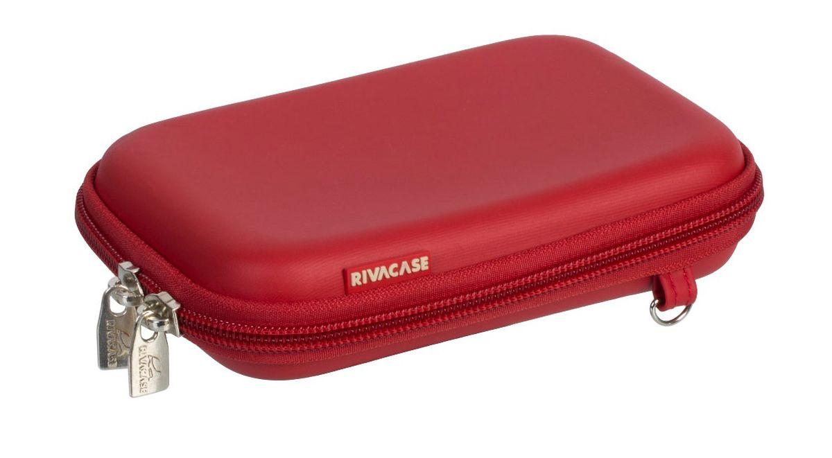 RIVACASE Riva 9101 (PU) HDD Case, Red чехол для жесткого диска 6661