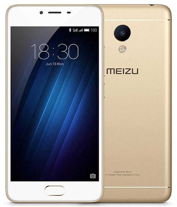 Meizu M3s mini 32GB, GoldMZU-Y685H-32-GOWHMeizu M3s mini имеет стильный металлический корпус, подвергающийся пескоструйной обработке и тщательной финишной полировке для придания ему максимально эстетичного внешнего вида. Благодаря современной технологии анодирования он не только защищает внутренние компоненты от повреждения, но и сам сохраняет превосходную гладкость в течение всего срока использования устройства. Наличие 8-ядерного процессора с 64-битной архитектурой и 3 Гб оперативной памяти позволяет запускать новейшие трехмерные игры и открывать несколько приложений одновременно, не опасаясь задержек и зависаний.Смартфон оснащается 5-дюймовым экраном с матрицей IPS, которая позволяет получить насыщенную цветопередачу и большую контрастность при выборе любого угла обзора.В многофункциональную кнопку под дисплеем смартфона встроен сканер отпечатков пальцев mTouch 2.1. Он помогает заблокировать устройство, предотвратив несанкционированный доступ к личной информации пользователя.Камера 13 Мпикс обеспечивает высокую четкость и естественную цветовую гамму изображений за счет применения светосильной оптики и фазового автофокуса. Пользователь может поэкспериментировать с настройками, выбрав панорамный режим, а также установив вручную выдержку или экспозицию.Фирменная оболочка FLYME обеспечивает мгновенный доступ ко всем функциям смартфона, а также повышает быстродействие системы и помогает экономить заряд батареи.Телефон сертифицирован EAC и имеет русифицированный интерфейс меню и Руководство пользователя.