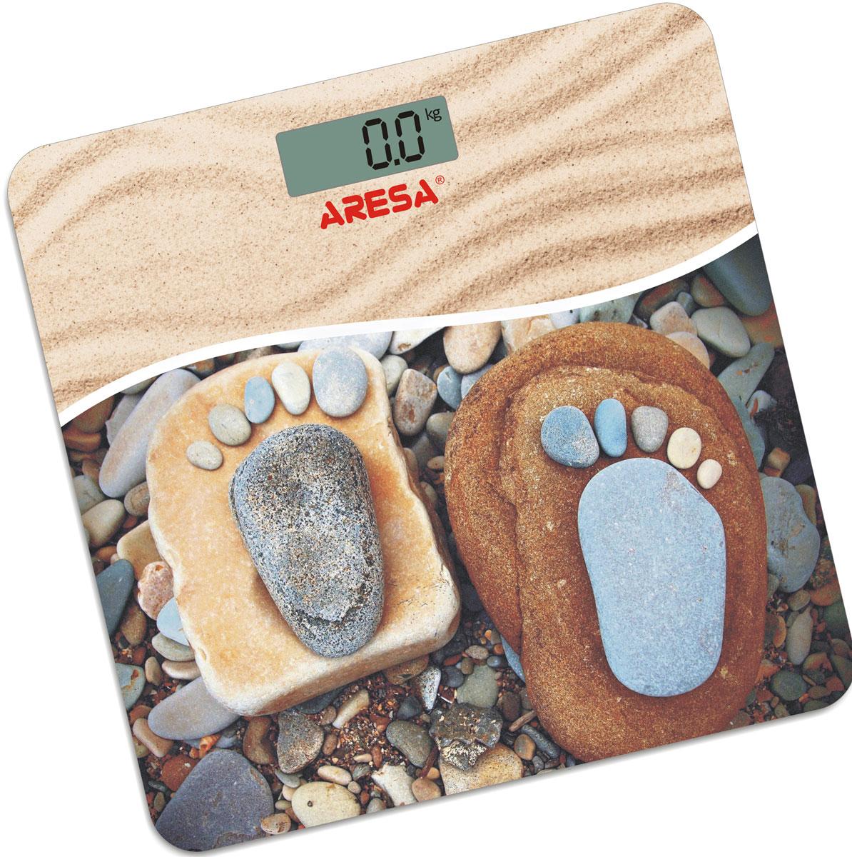 Aresa SB-304 напольные весыSB-304Напольные электронные весы Aresa SB-304 - неотъемлемый атрибут здорового образа жизни. Они необходимы тем, кто следит за своим здоровьем, весом, ведет активный образ жизни, занимается спортом и фитнесом. Очень удобны для будущих мам, постоянно контролирующих прибавку в весе, также рекомендуются родителям, внимательно следящим за весом своих детей.Минимальная нагрузка: 2,5 кг