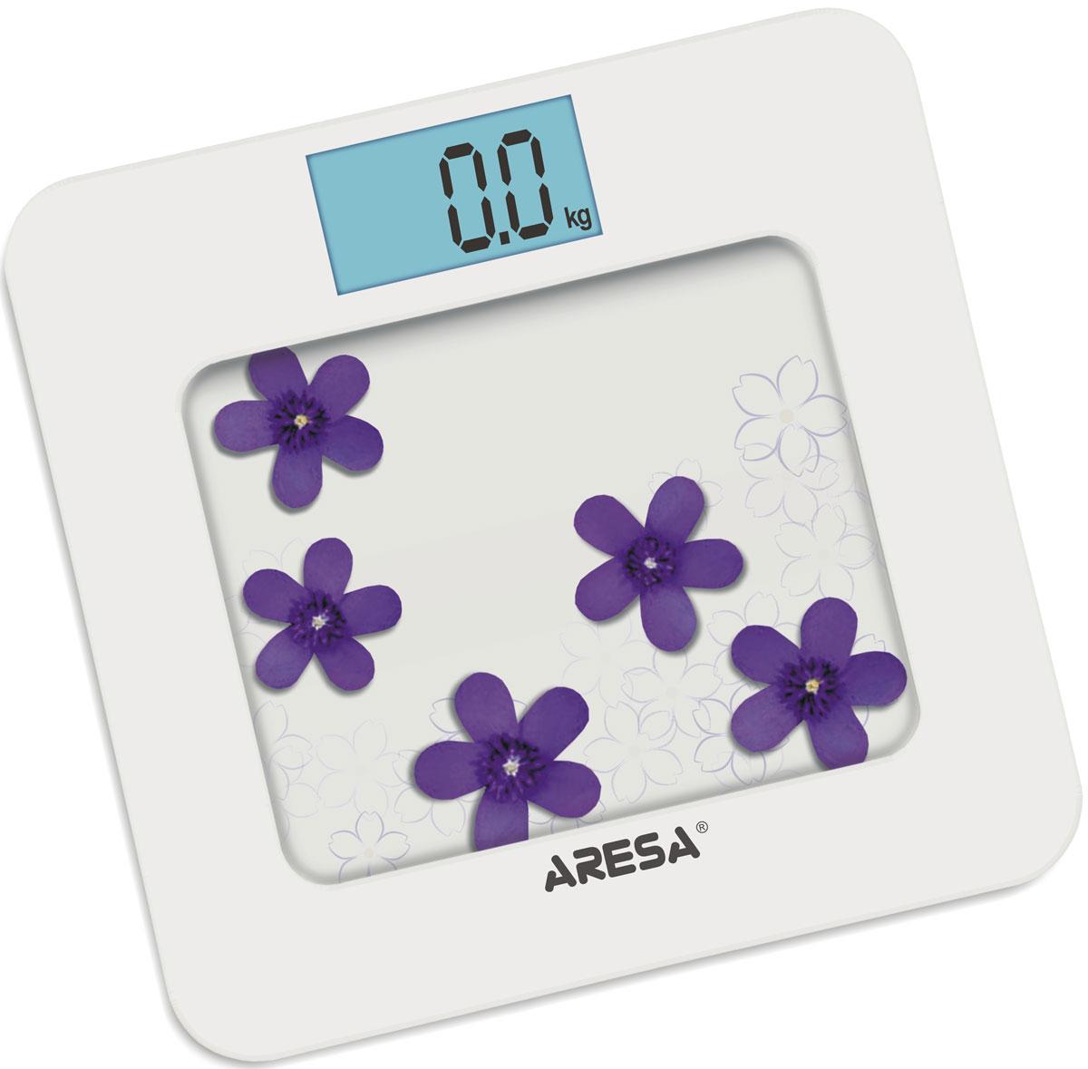 Aresa SB-309 напольные весыSB-309Напольные электронные весы Aresa SB-309 - неотъемлемый атрибут здорового образа жизни. Они необходимы тем, кто следит за своим здоровьем, весом, ведет активный образ жизни, занимается спортом и фитнесом. Очень удобны для будущих мам, постоянно контролирующих прибавку в весе, также рекомендуются родителям, внимательно следящим за весом своих детей. Минимальная нагрузка: 6 кг