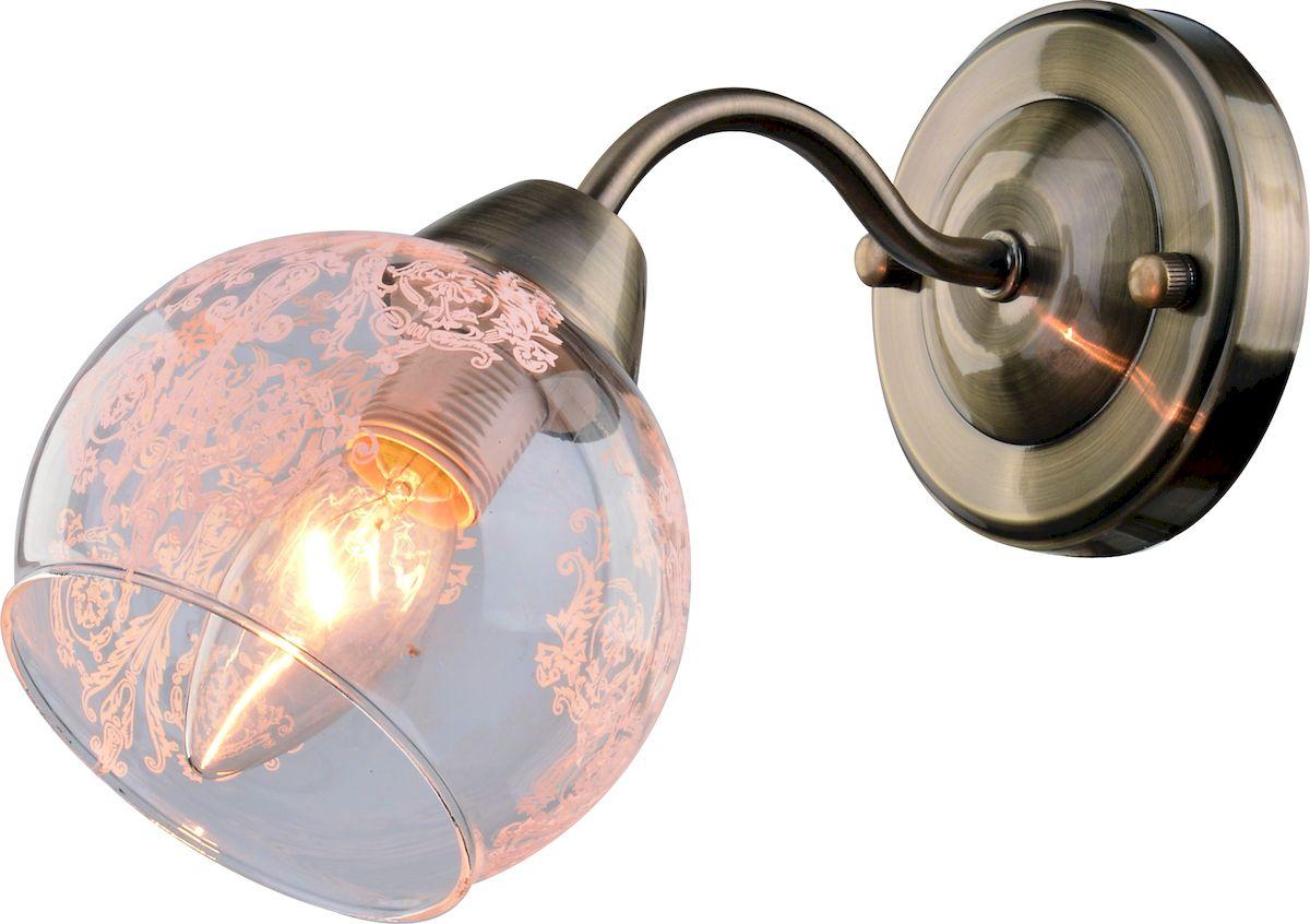 Светильник настенный Arte Lamp MARTINA A1292AP-1ABA1292AP-1AB