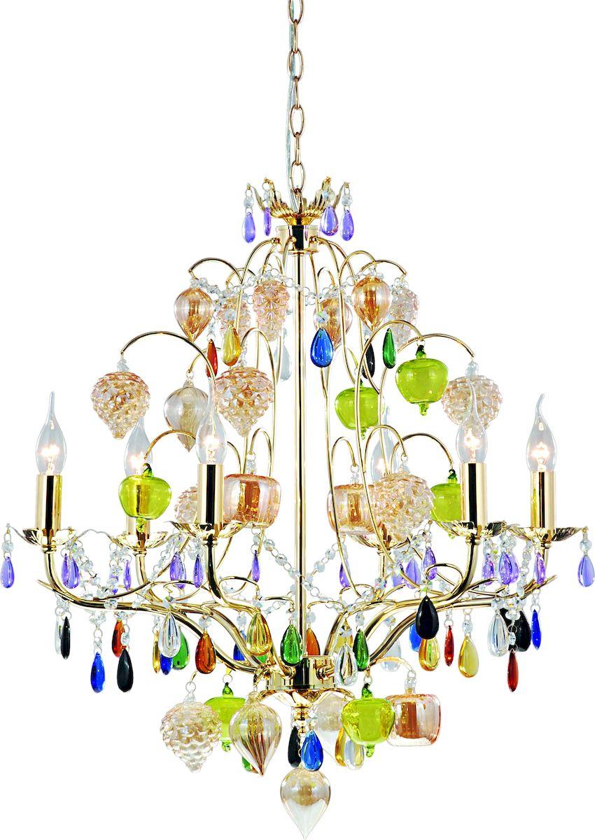 Светильник подвесной Arte Lamp RICCHEZZA A2011LM-6GOA2011LM-6GO