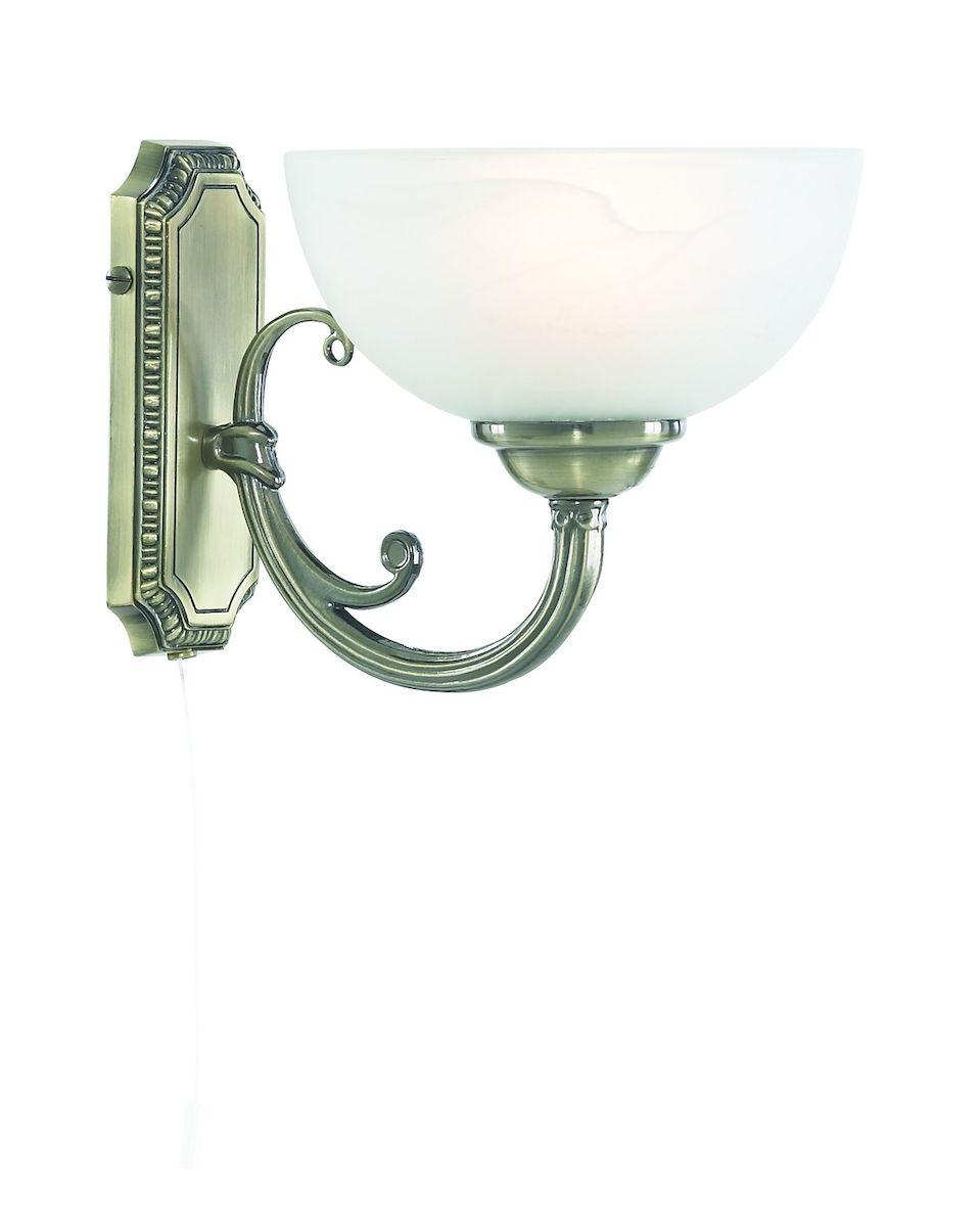 Светильник настенный Arte Lamp Windsor White A3777AP-1ABA3777AP-1AB
