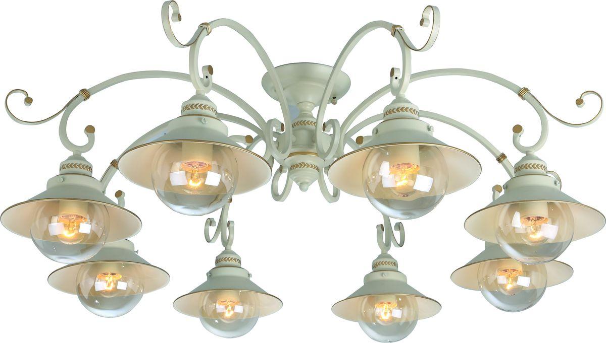 Светильник потолочный Arte Lamp GRAZIOSO A4577PL-8WGA4577PL-8WG