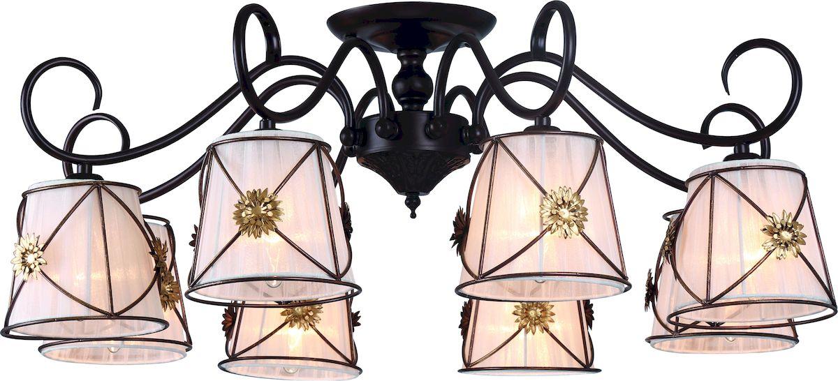 Светильник потолочный Arte Lamp Fortuna A5495PL-8BRA5495PL-8BR
