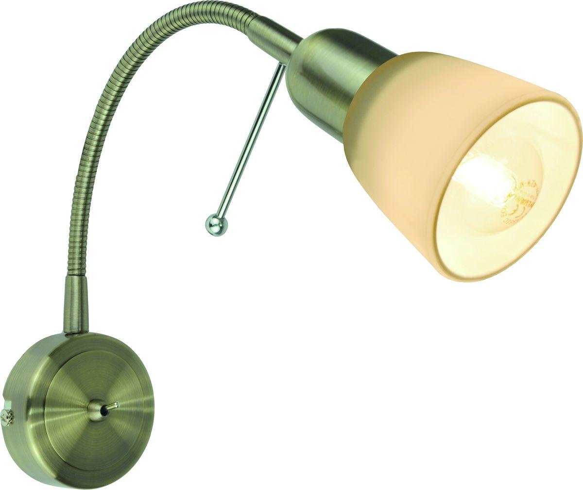 Светильник настенный Arte Lamp LETTURA A7009AP-1ABA7009AP-1AB