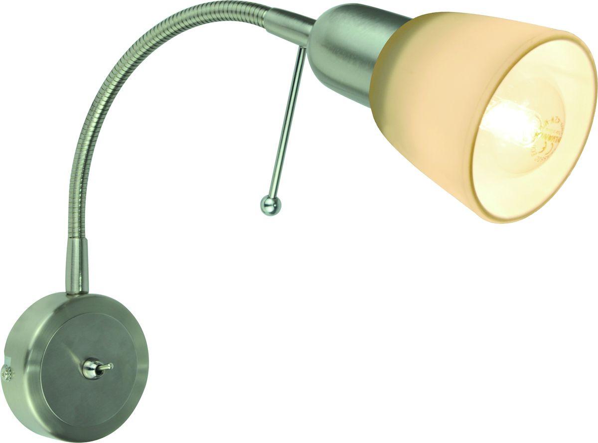 Светильник настенный Arte Lamp LETTURA A7009AP-1SSA7009AP-1SS