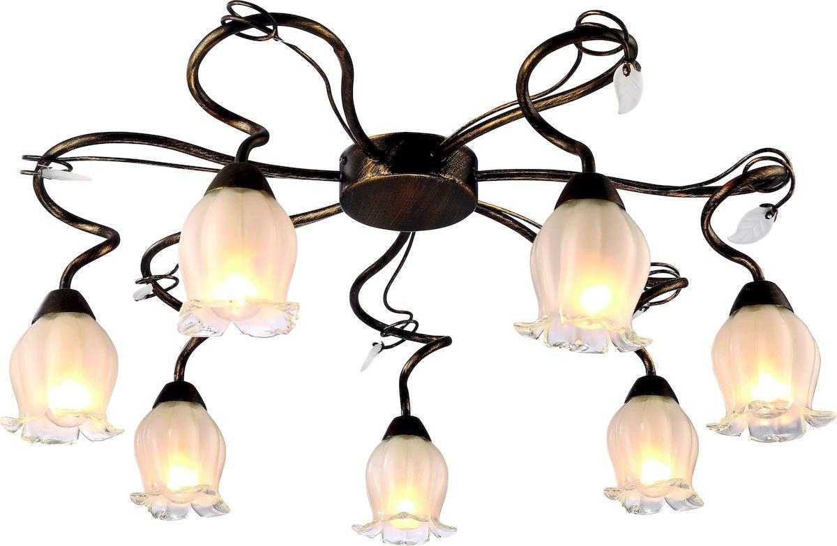 Светильник потолочный Arte Lamp GLAMORE A7449PL-7BRA7449PL-7BR