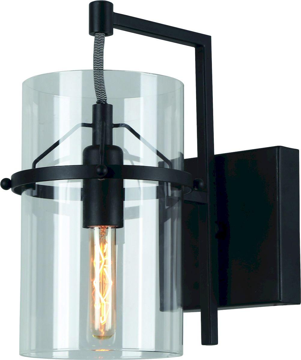 Светильник настенный Arte Lamp PIATTO A8586AP-1BKA8586AP-1BK