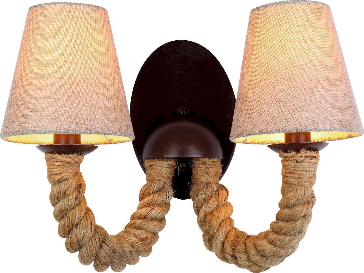 Светильник настенный Arte Lamp Corda A8958AP-2BRA8958AP-2BR