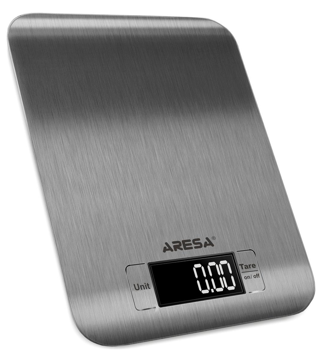 Aresa SK-408 кухонные весыSK-408Кухонные электронные весы Aresa SK-408 - незаменимые помощники современной хозяйки. Они помогут точно взвесить любые продукты и ингредиенты. Кроме того, позволят людям, соблюдающим диету, контролировать количество съедаемой пищи и размеры порций. Предназначены для взвешивания продуктов с точностью измерения 1 грамм. Минимальная нагрузка: 5 г