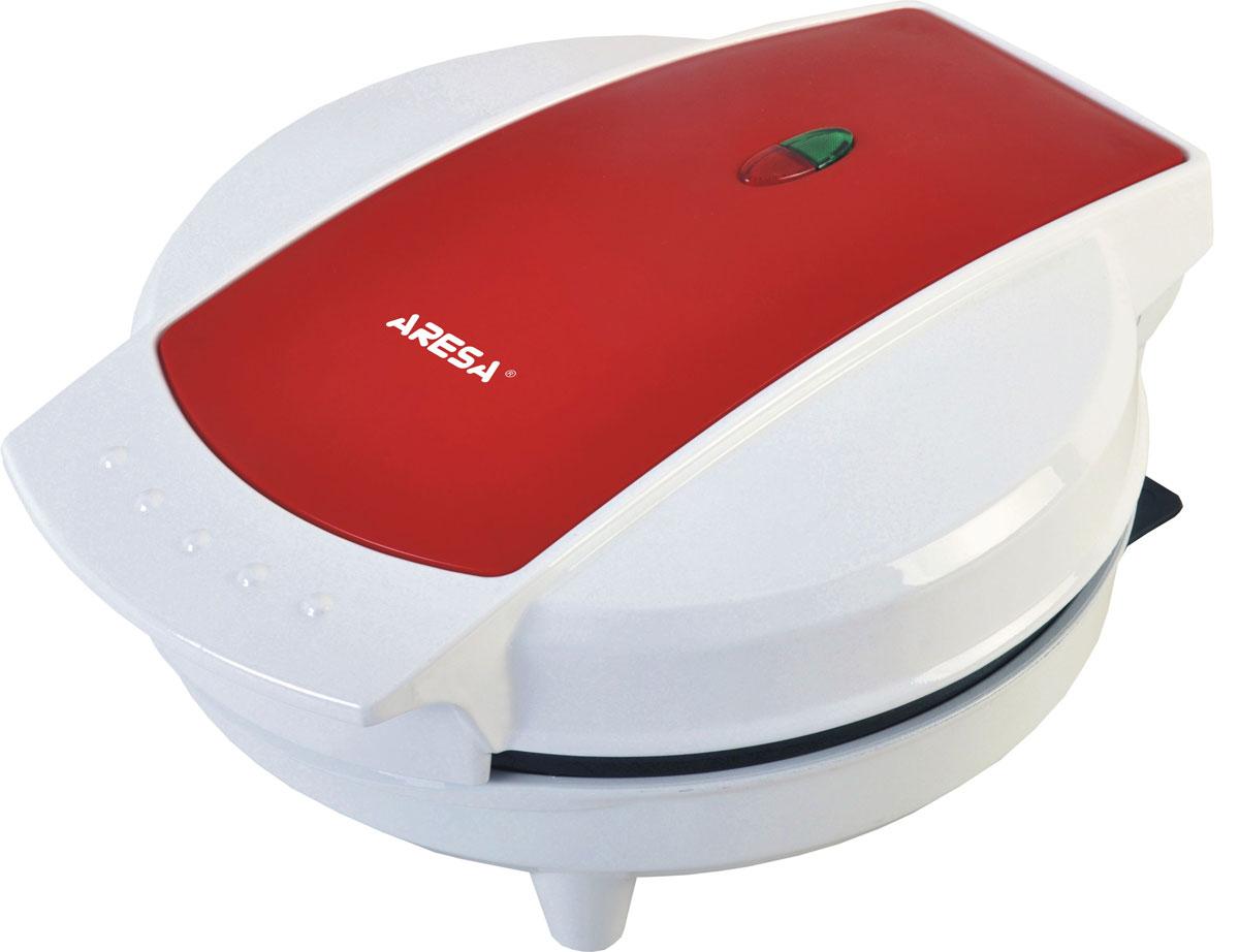 Aresa AR-2802 вафельницаAR-2802Вафельница Aresa AR-2802 имеет надежный и прочный корпус из термостойкого пластика. Семь форм позволят приготовить восхитительные вафли. Высококачественное антипригарное покрытие и защита от перегрева обеспечит комфортное и безопасное использование прибора. Для отслеживания работы вафельница имеются световой индикатор питания и нагрева.