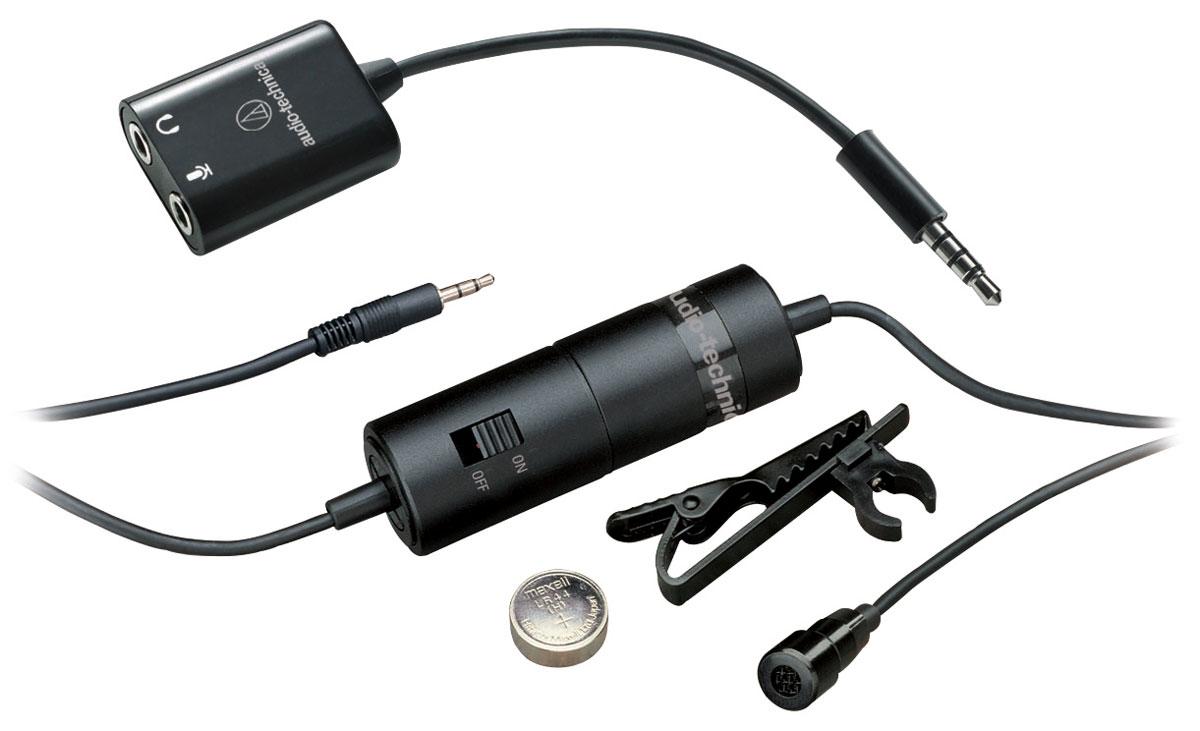 Audio-Technica ATR3350iS микрофон петличный