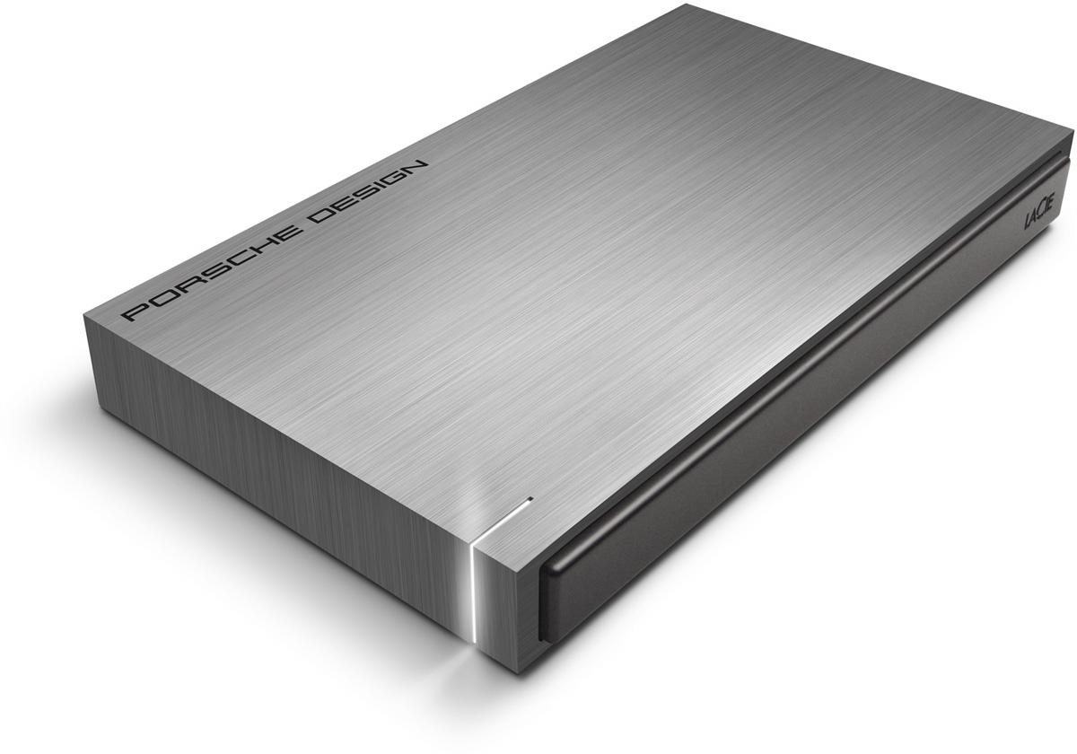 LaCie Porsche Design Mobile Drive 2TB, Dark Grey внешний жесткий диск (LAC9000459)