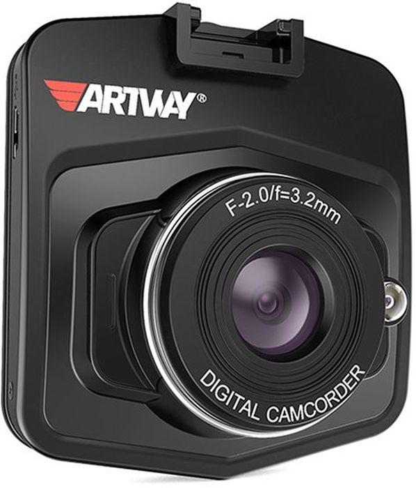 Artway AV-510, Black видеорегистратор artway av 507 автомобильный видеорегистратор black