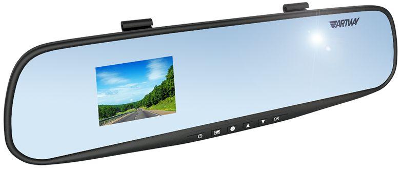 Artway AV-610, Black видеорегистратор-зеркало artway av 507 автомобильный видеорегистратор black