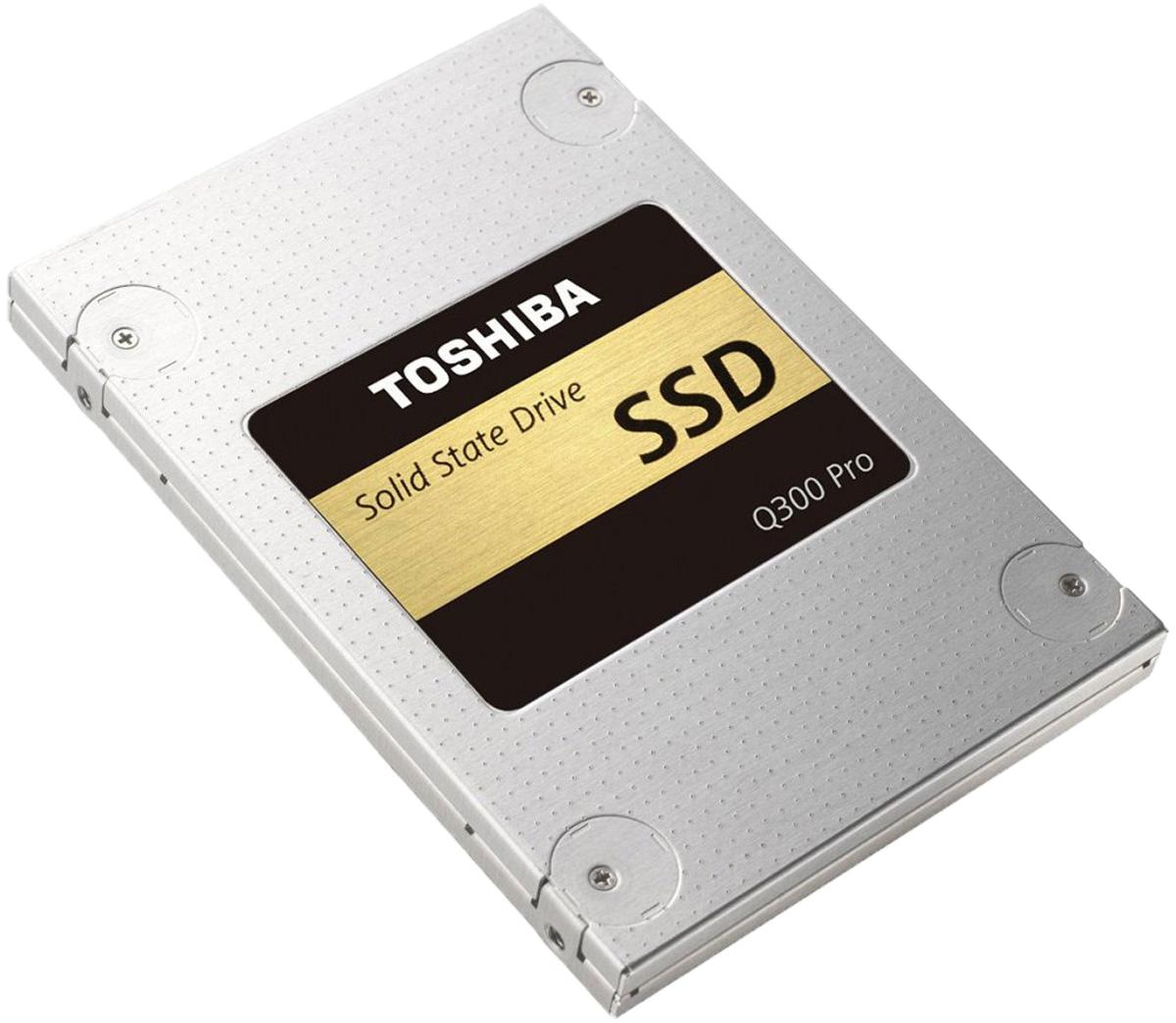 Toshiba Q300 Pro 256GB SSD-накопитель (HDTSA25EZSTA)HDTSA25EZSTAХотите повысить производительность своего компьютера? Для твердотельного накопителя Toshiba Q300 Pro ограничений скорости просто не существует. Вы хотите добиться максимальной производительности в играх, быстрой загрузки системы и прироста скорости при редактировании видео и фотографий? Тогда SSD Toshiba с двухуровневыми ячейками — это ваш выбор. При этом высокая скорость работы не означает, что ваша система станет потреблять больше электроэнергии. В отличие от традиционных жестких дисков у твердотельных накопителей нет механических частей, поэтому они работают бесшумно и отличаются более высокой прочностью. Компания Toshiba всемирно известна качеством и надёжностью своей продукции, поэтому вашим данным абсолютно ничего не угрожает. Благодаря флэш-памяти Toshiba премиум-класса, высокой производительности и надёжности твердотельный накопитель Q300 Pro может разогнать потенциал любого ноутбука или ПК до максимума. В твердотельном накопителе Q300 Pro...