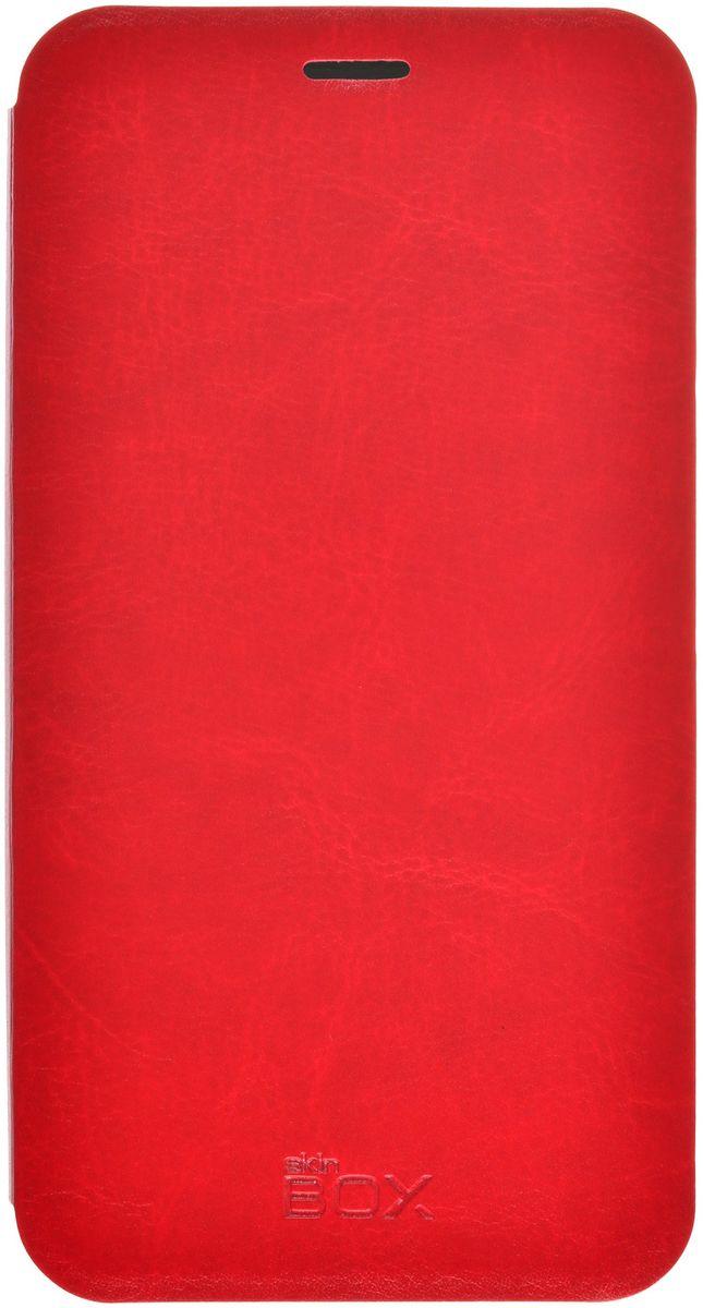 Skinbox Lux чехол для Meizu M3 Note, Red2000000093024Чехол-книжка Skinbox для Meizu M3 Note c круглым окошком надежно защитит ваш смартфон от пыли, грязи, царапин, оставив при этом свободный доступ ко всем разъемам устройства. Также имеется возможность использования чехла в виде настольной подставки. Чехол Skinbox - это стильная и элегантная деталь вашего образа, которая всегда обращает на себя внимание среди множества вещей.