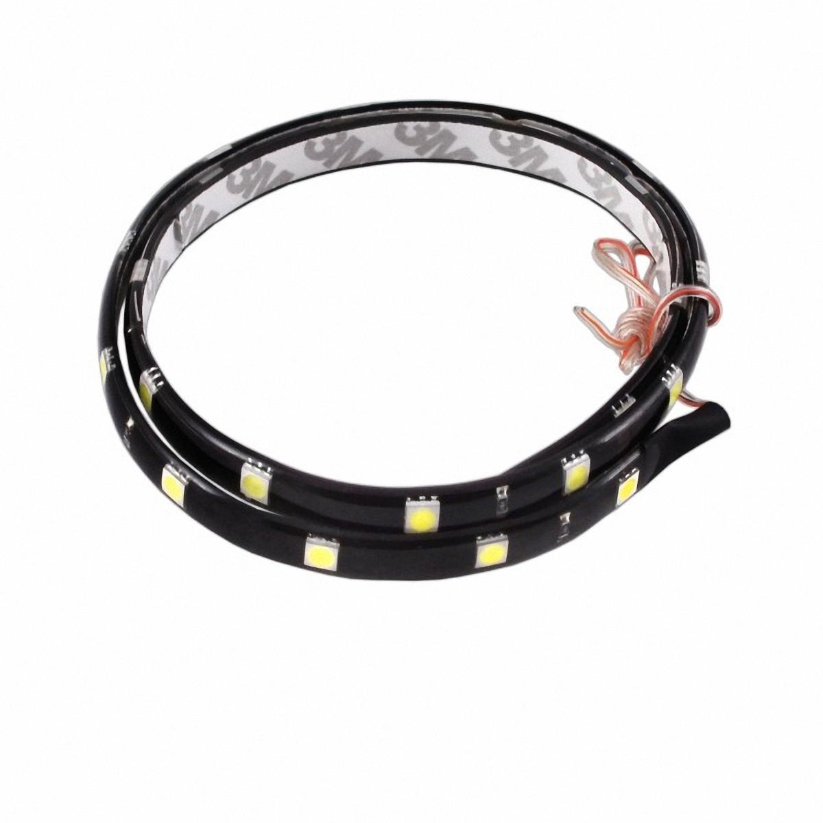 Skyway Лента светодиодная 24 SMD диодов. S03201004S03201004Входное напряжение: 12V. Длина: 60 см. Цвет свечения: белый.