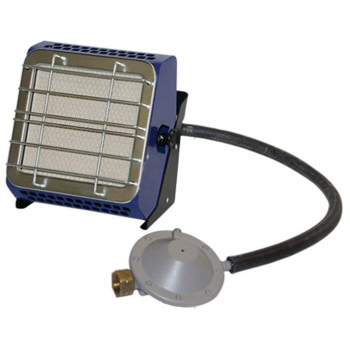 Hyundai H-HG2-29-UI686 газовый инфракрасный обогревательH-HG2-29-UI686В газовом инфракрасном обогревателе Hyundai 2,9 H-HG2-29-UI686 применяются керамические излучатели Rauschert (Германия), что создает эффект открытого пламени (очень похоже на камин). Благодаря используемой системе инфракрасного излучения в помещении не выгорает кислород, нагревается не воздух, а предметы, которые впоследствии отдают тепло вам. Работает данный газовый обогреватель на самом экологичном и недорогом виде топлива пропан-бутан. Можно использовать для приготовления и подогрева пищи Два рабочих положения: горизонтально (излучающей поверхностью вверх) вертикально (угол наклона не более 60°) Максимальный расход газа: 0,249 кг/час Давление газа : 30 мбар Температура излучающей поверхности: не менее 800°C Лучистый КПД: 35%