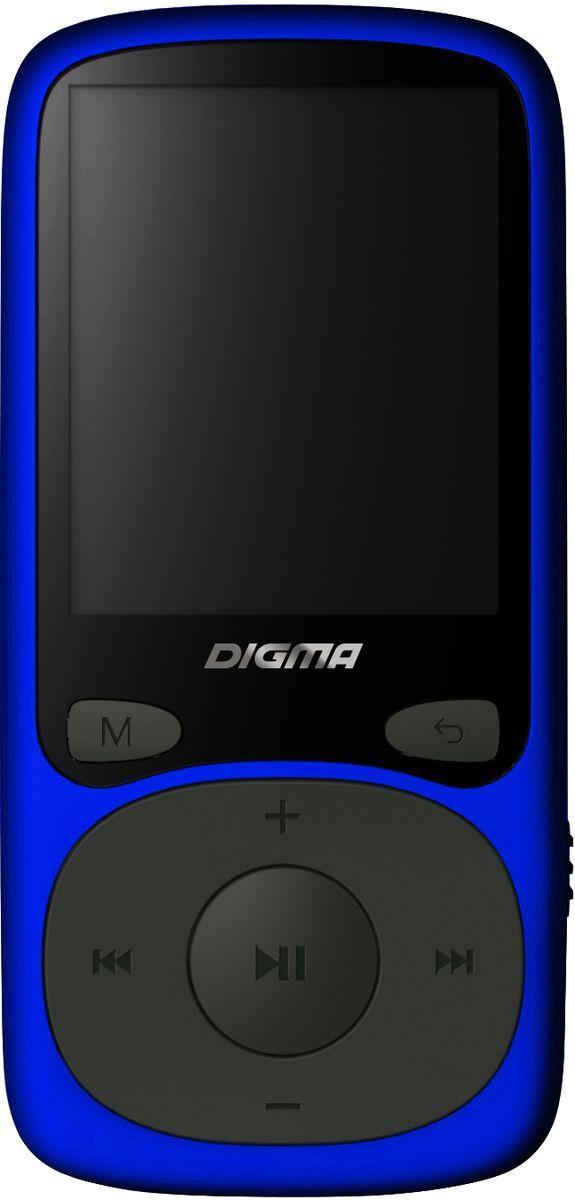 Digma B3 8Gb, Blue MP3-плеерB3BLПлеер Digma B3 может использоваться не только для прослушивания музыки, но также для просмотра видео и изображений. Автономное питание рассчитано на 10 часов непрерывной работы и осуществляется с помощью литий-полимерного аккумулятора. Поддержка карт памяти microSD позволяет загружать файлы различных типов и объемов. Благодаря размеру и весу плеера вы всегда сможете взять его в дорогу.