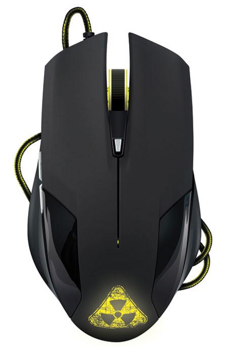 Oklick 765G Symbiont, Black мышь игровая945841Oklick 765G Symbiont перевернет представление о манипуляторах низкого ценового сегмента. Оригинальное дизайнерское исполнение, навеянное фильмами о постапокалипсисе, удобные пропорции и отличная эргономика порадуют не только любителей нестандартной периферии для своего компьютера, но и даже самого заядлого геймера.Эргономичная мышь средних размеров невероятно удобно ложится в руку, а покрытие софт-тач обеспечивает уверенный захват и приятные тактильные ощущения. Устойчивые к истиранию ножки обеспечивают быстрое скольжение мыши по поверхности, а плотная тканевая оплетка шнура препятствует его повреждению.Игровая мышь Oklick 765G Symbiont относится к устройствам типа plug-and-play и не нуждается в установке дополнительного ПО.