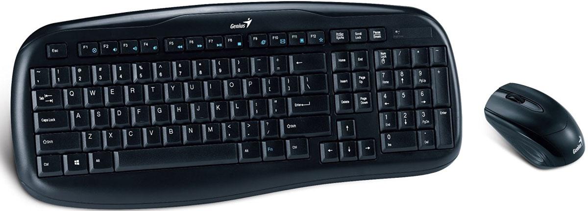 Genius Combo KB-8000X, Black клавиатура + мышь 31340005103