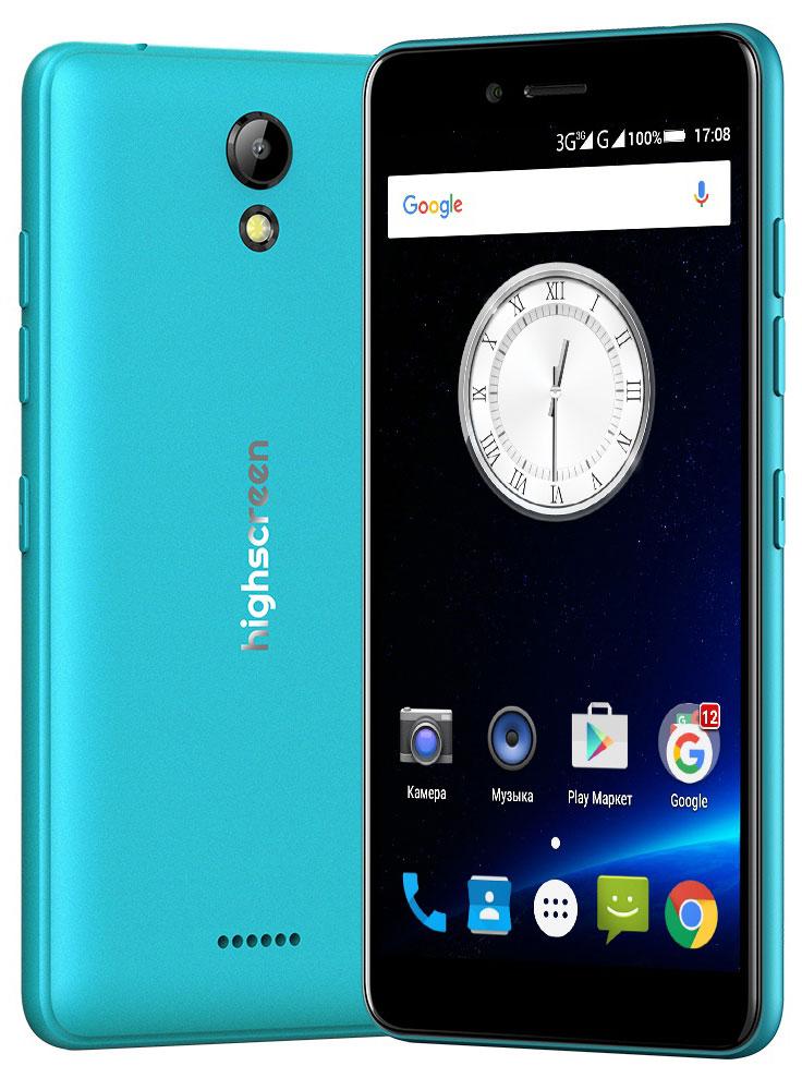 Highscreen Easy S, Blue23501Highscreen Easy S — поразит тебя дизайном, идеальными линиями корпуса и компактными размерами.Качественные материалы, сбалансированные характеристики, невысокая цена и простота в освоении - это всеновая серия смартфонов Easy.Highscreen Easy S работает на базе новейшей операционной системе Android 6 Marshmallow, которая стала ещебезопаснее и имеет более высокую производительность и энергоэффективность по сравнению с прошлымиверсиями. А еще HIghscreen не добавляет мусорные приложения и игры, тем самым позволяя тебе самому бытьхозяином своего смартфона.Яркий и контрастный HD-экран, выполненный по технологии IPS, обеспечивает правильную и точнуюцветопередачу. Повышенная чувствительность дисплея пригодится в динамичных играх и при наборе текста,когда требуется моментальный отклик и точное попадание.Не отставай от друзей и радуй себя и их качественными снимками. Ты можешь делать фото как в автоматическомтак и в профессиональном режиме, где доступно множество настроек и улучшений. Сохранить отснятый материал,электронную литературу, документы и любую другую информацию возможно на карту памяти microSD, для неё втелефоне предусмотрен слот.Устройство имеет поддержку одновременной работы двух сим карт. Выбирайте разные тарифы, используйтеразные телефонные номера, разделяйте звонки на личные и рабочие и учитывайте финансовую выгоду приобщении.Смартфон сертифицирован EAC и имеет русифицированный интерфейс меню и Руководство пользователя.