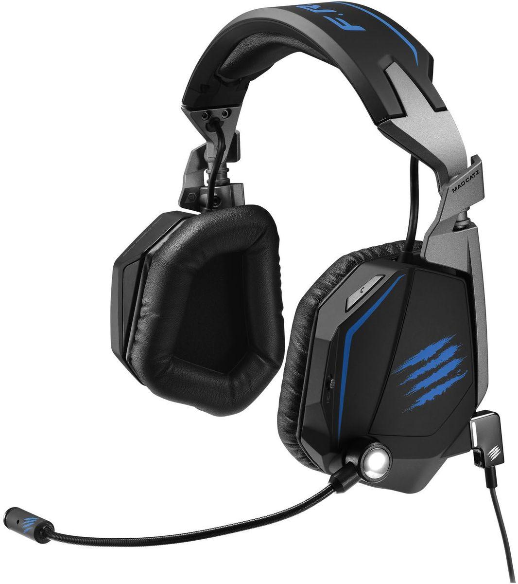 Mad Catz F.R.E.Q.ТЕ 7.1 Stereo Surround Headset игровые наушникиPCAmc59Mad Catz F.R.E.Q.ТЕ 7.1 имеет восьмиканальный звук киберспорт-класса. Детали, созданные, чтобы соответствовать требованиям турнирных игроков. Благодаря системе двойного микрофона с сетевыми настройками, гарнитура превратилась в идеального союзника на турнире независимо от того, в какой игре вы собираетесь одержать победу. Звук турнирного качества Настраиваемое программное обеспечение восьмиканального объемного звука задает профили эквалайзера для игр, фильмов и музыки. Система двойного микрофона для безупречной связи с вашей командой Направленные звуковые сигналы повышают эффективность игры Комфортные амбушюры из мягкого пенного материала с эффектом 3D памяти для лучшего шумоподавления Успех в LAN –турнирах часто зависит от возможности общаться со своей командой. Гарнитура Mad Catz F.R.E.Q.ТЕ 7.1 оснащена двумя микрофонами, которые, работая в тандеме, максимально снижают уровень помех и внешнего шума. Подвижный, гибкий и однонаправленный...