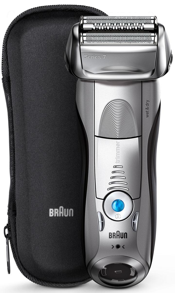Braun Series 7 7893s Wet&Dry, Grey электробритва