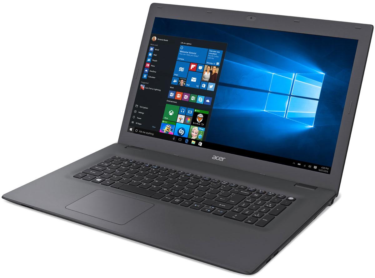 Acer Aspire E5-772G-59SX, Black Grey (NX.MV8ER.007)NX.MV8ER.007Лаконичный дизайн и текстурированная поверхность делают ноутбук Acer Aspire E5-772G красивым и приятным на ощупь. Цветные штрихи по краям панелей подчеркивают стильный внешний вид всей серии, а продуманный дизайн стыка поверхностей для открытия ноутбука отлично смотрится и позволяет надежно зафиксировать экран.Благодаря обновленным и настроенным параметрам для воспроизведения мультимедийных материалов, вы насладитесь высоким качеством звука и видео. Технология Acer TrueHarmony предлагает более реалистичные и насыщенные звуковые эффекты, а компоненты, сертифицированные Skype, обеспечивают надежную и мгновенную связь, а также непрерывное, четкое и плавное воспроизведение аудио и видео без эха.Ноутбук Acer Aspire E5-772G обладает дополнительными возможностями для решения любых задач. Было улучшено беспроводное соединение, увеличена точность определения прикосновений тачпада и установлены более быстрые и большие по объему жесткие диски. Экран оснащен специальными фильтрами и технологиями для уменьшения нагрузки на глаза.Процессор Intel i5-4210U, обладающий низким энергопотреблением, 4 гигабайта оперативной памяти для быстрой работы программ и жесткий диск объемом 1 ТБ позволит хранить большое количество информации. Acer Aspire E5-772G оснащен дискретной видеокартой nVidia GeForce 920M с видеопамятью 2 ГБ, которая справляется с самыми разнообразными задачами, начиная от просмотра видео и фильмов в высоком качестве, заканчивая работой в фото- и видеоредакторах.Так же ноутбук имеет порт HDMI, который позволит подключиться к монитору или телевизору для просмотра видео или фотоматериалов на большом экране.Точные характеристики зависят от модификации.Ноутбук сертифицирован EAC и имеет русифицированную клавиатуру и Руководство пользователя.