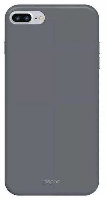 Deppa Air Case чехол для Apple iPhone 7 Plus, Graphite83274Чехол Deppa Air Case для Apple iPhone 7 Plus - случай редкого сочетания яркости и чувства меры. Это стильная и элегантная деталь вашего образа, которая всегда обращает на себя внимание среди множества вещей. Благодаря покрытию soft touch чехол невероятно приятен на ощупь, поэтому смартфон не хочется выпускать из рук. Ультратонкий чехол (толщиной 1 мм) повторяет контуры самого девайса, при этом готов принимать на себя удары - последствия непрерывного ритма городской жизни.