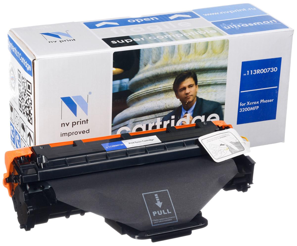 NV Print 113R00730, Black тонер-картридж для Xerox Phaser 3200MFPNV-113R00730Совместимый лазерный картридж NV Print 113R00730 для печатающих устройств Xerox - это альтернатива приобретению оригинальных расходных материалов. При этом качество печати остается высоким. Картридж обеспечивает повышенную чёткость чёрного текста и плавность переходов оттенков серого цвета и полутонов, позволяет отображать мельчайшие детали изображения. Лазерные принтеры, копировальные аппараты и МФУ являются более выгодными в печати, чем струйные устройства, так как лазерных картриджей хватает на значительно большее количество отпечатков, чем обычных. Для печати в данном случае используются не чернила, а тонер.