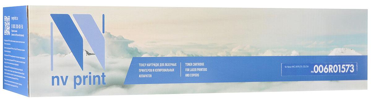 NV Print 006R01573, Black тонер-картридж для Xerox WC 5019/21/22/24NV-006R01573Совместимый лазерный картридж NV Print 006R01573 для печатающих устройств Xerox - это альтернатива приобретению оригинальных расходных материалов. При этом качество печати остается высоким. Картридж обеспечивает повышенную чёткость чёрного текста и плавность переходов оттенков серого цвета и полутонов, позволяет отображать мельчайшие детали изображения.Лазерные принтеры, копировальные аппараты и МФУ являются более выгодными в печати, чем струйные устройства, так как лазерных картриджей хватает на значительно большее количество отпечатков, чем обычных. Для печати в данном случае используются не чернила, а тонер.