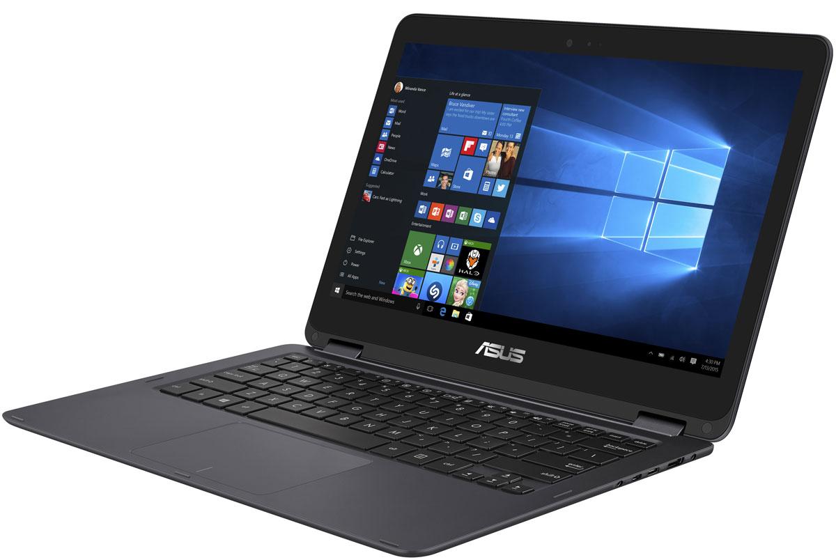 ASUS ZenBook Flip UX360CA (UX360CA-C4112TS)UX360CA-C4112TSAsus Zenbook Flip UX360CA сочетает в себе элегантную изысканность ультрабуков серии Zenbook с удобством и универсальностью ноутбуков-трансформеров, оснащенных откидывающимся на 360° дисплеем. Это ультратонкое, ультралегкое и стильное устройство может быть и ноутбуком, и планшетом, и чем-то большим. Он создан, чтобы быть с вами везде, в любой ситуации. Установленный в нем процессор Intel Core с легкостью справится с любыми повседневными задачами, а его батареи хватает на целых 12 часов работы без подзарядки! ZenBook Flip UX360CA представляет собой шедевр с точки зрения дизайна. Он выполнен в тонком и одновременно прочном алюминиевом корпусе монолитной конструкции и при толщине 13,9 мм весит всего 1,3 кг. К элегантному дизайну семейства ZenBook с отличительной отделкой в виде концентрических окружностей добавляют нотку изысканности оригинальные цветовые решения. ZenBook Flip UX360CA оборудован дисплеем с инновационным механизмом крепления, который...