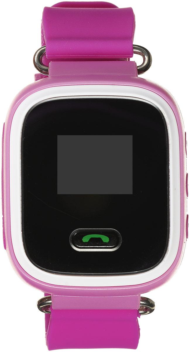 TipTop 60ЧБ, Pink детские часы-телефон00119Детские умные часы-телефон TipTop 60ЧБ с GPS - трекером созданы специально для детей и их родителей. С ними вы всегда будете знать, где находится ваш ребенок и что рядом с ним происходит. Как они работают и какие имеют преимущества? Управление часами происходит полностью через мобильное приложение, которое можно бесплатно скачать на AppStore или PlayMarket. Основные функции: Родители с помощью мобильного приложения всегда видят на карте где находится их ребенок В часы вставляется сим - карта. Родители всегда могут позвонить на часы, также ребенок может позвонить с часов на 3 самых важных номера - мама, папа, бабушка. Также можно разрешать или запрещать номерам звонить на часы, например внести в список разрешенных звонков только номера телефонов близких и родных Родители могут слушать, что происходит рядом с ребенком - как няня обращается с ребенком, как ребенок отвечает на уроках и др. На часах есть кнопка SOS - в случае...