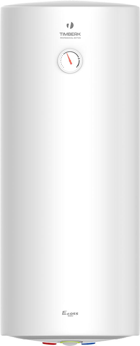 Timberk SWH RS1 80 VH накопительный водонагревательSWH RS1 80VНЭлектрический накопительный водонагреватель Тimberk SWH RS1 подготовит большое количество горячей воды и будет поддерживать заданную температуру автоматически. Он идеально подходит для снабжения горячей водой загородных домов, коттеджей, бань и прочих индивидуальных бытовых помещений.Новая технология крепления крышек водонагревателя Hidden Force делает его дизайн неповторимым благодаря отсутствию швов на фронтальной поверхности водонагревателя. Прочный стальной корпус покрыт белоснежной матовой эмалью. Эргономичная панель управления, выполнена в пастельных тоннах. В режиме нагрева световая индикация светится ярко-розовым светом, в обычном режиме - модным голубым светом.Водонагреватель имеет равномерный нагрев воды благодаря оптимизированной системе переливов. Высокий уровень энергоэффективности достигается с помощью слоя высококачественной теплоизоляции, равномерно без пустот заполняющему внутреннее пространство между корпусом и баками. Реальное снижение теплопотерь благодаря полному отсутствию тепловых мостиков. Позиция терморегулятора расположена оптимально. Онасоответствует наиболее комфортной температуре нагрева воды в баке (+58° (+/-2°С)), а также наиболее эффективному режиму расхода электроэнергии.Внутренние резервуары и все компоненты выполнены из нержавеющей стали SUS 304 толщиной 1,2 ммУвеличенный магниевый анод защищает внутренние резервуары от коррозии и уменьшает количество образующейся накипиМедный нагревательный элемент благодаря специальному защитному покрытию имеет увеличенный срок службы