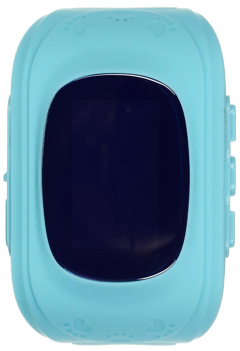 TipTop 50ЧБ, Light Blue детские часы-телефон00115Детские умные часы-телефон TipTop 50ЧБ с GPS - трекером созданы специально для детей и их родителей. С ними вы всегда будете знать, где находится ваш ребенок и что рядом с ним происходит. Как они работают и какие имеют преимущества? Управление часами происходит полностью через мобильное приложение, которое можно бесплатно скачать на AppStore или PlayMarket. Основные функции: Родители с помощью мобильного приложения всегда видят на карте где находится их ребенок В часы вставляется сим - карта. Родители всегда могут позвонить на часы, также ребенок может позвонить с часов на 3 самых важных номера - мама, папа, бабушка. Также можно разрешать или запрещать номерам звонить на часы, например внести в список разрешенных звонков только номера телефонов близких и родных Родители могут слушать, что происходит рядом с ребенком - как няня обращается с ребенком, как ребенок отвечает на уроках и др. На часах есть кнопка SOS - в случае опасности...