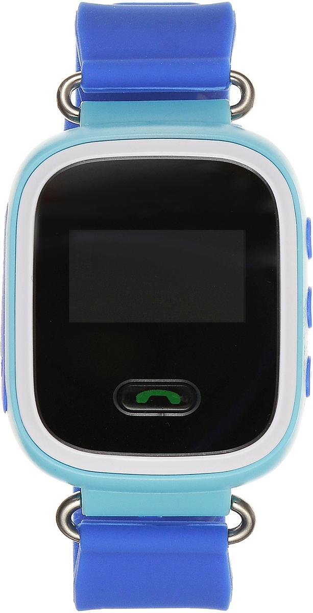 TipTop 60Ц, Light Blue детские часы-телефон00112Детские умные часы-телефон TipTop 60ЦВ с GPS-трекером созданы специально для детей и их родителей. С ними вы всегда будете знать, где находится ваш ребенок и что рядом с ним происходит. Управление часами происходит полностью через мобильное приложение, которое можно бесплатно скачать на AppStore или PlayMarket. Основные функции: В часы вставляется сим-карта. Родители всегда могут позвонить на часы, также ребенок может позвонить с часов на 3 самых важных номера - мама, папа, бабушка. Также можно разрешать или запрещать номерам звонить на часы, например, внести в список разрешенных звонков только номера телефонов близких и родных Родители могут слушать, что происходит рядом с ребенком - как няня обращается с ребенком, как ребенок отвечает на уроках На часах есть кнопка SOS - в случае опасности ребенок нажимает на эту кнопку, и часы автоматически дозваниваются на все 3 номера - кто быстрее ответит. Также высылают сообщение...