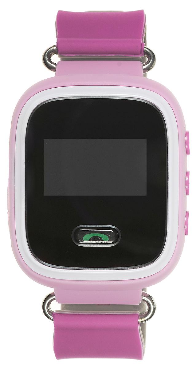 TipTop 60Ц, Pink детские часы-телефон00111Детские умные часы-телефон TipTop 60ЦВ с GPS-трекером созданы специально для детей и их родителей. С ними вы всегда будете знать, где находится ваш ребенок и что рядом с ним происходит. Управление часами происходит полностью через мобильное приложение, которое можно бесплатно скачать на AppStore или PlayMarket. Основные функции: В часы вставляется сим-карта. Родители всегда могут позвонить на часы, также ребенок может позвонить с часов на 3 самых важных номера - мама, папа, бабушка. Также можно разрешать или запрещать номерам звонить на часы, например, внести в список разрешенных звонков только номера телефонов близких и родных Родители могут слушать, что происходит рядом с ребенком - как няня обращается с ребенком, как ребенок отвечает на уроках На часах есть кнопка SOS - в случае опасности ребенок нажимает на эту кнопку, и часы автоматически дозваниваются на все 3 номера - кто быстрее ответит. Также высылают сообщение...